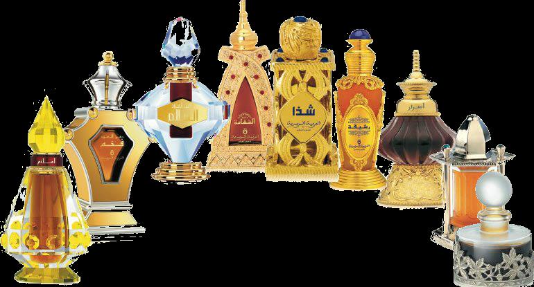 Купить флаконы арабских масляных духов