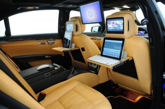 Brabus iBusiness Mercedes SV12 R + iPad