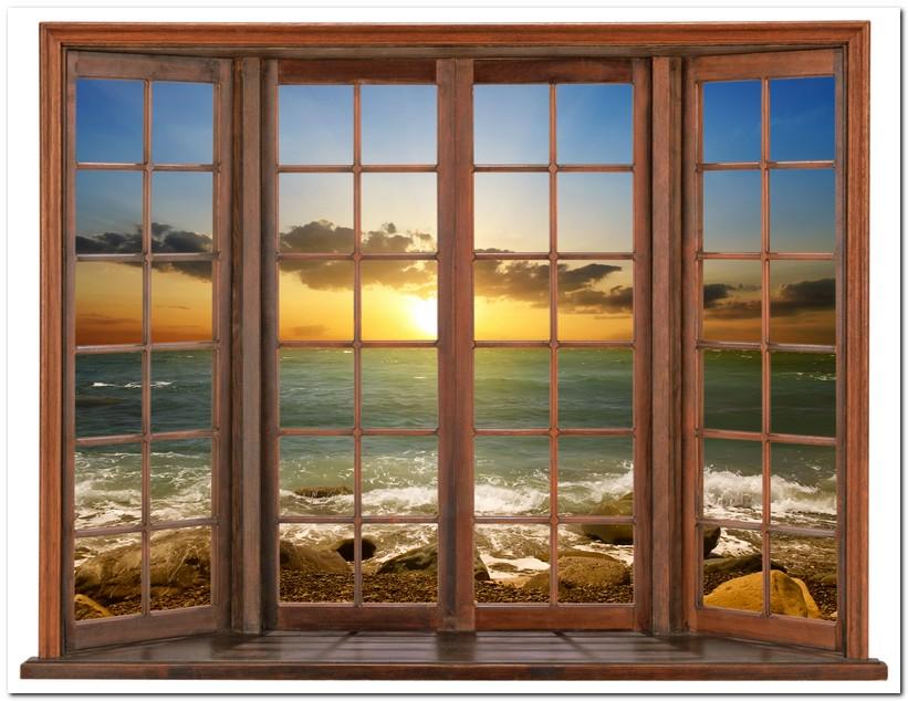 фото вид из окна на море