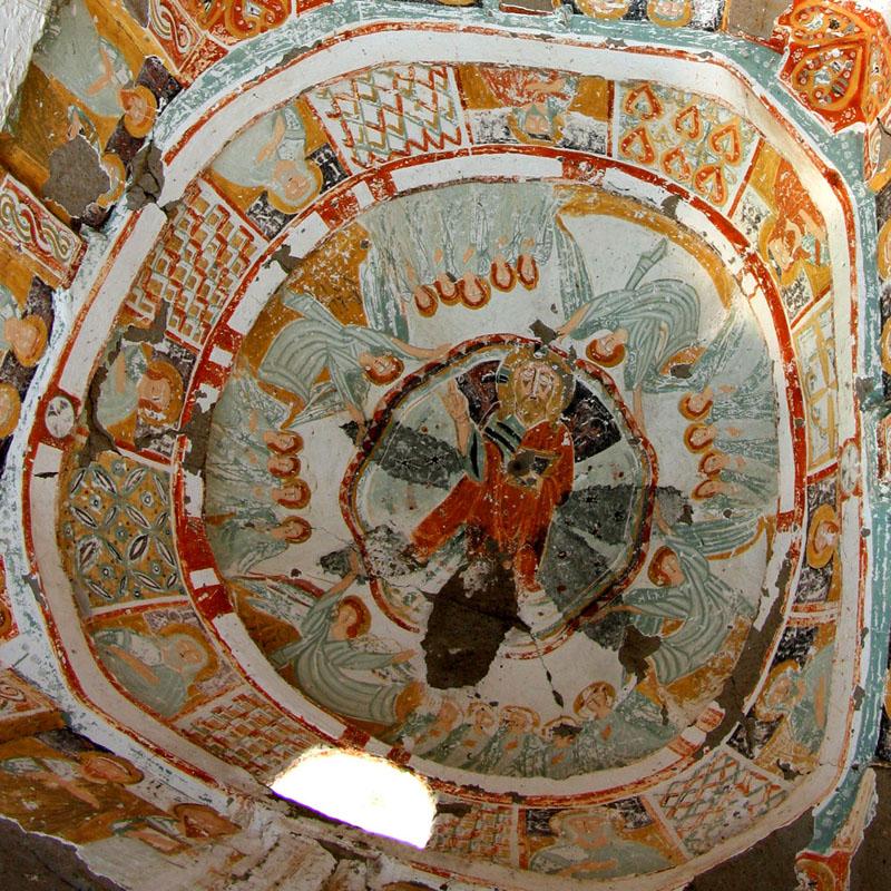 каппадокия ихлара агачалты вознесение в куполе