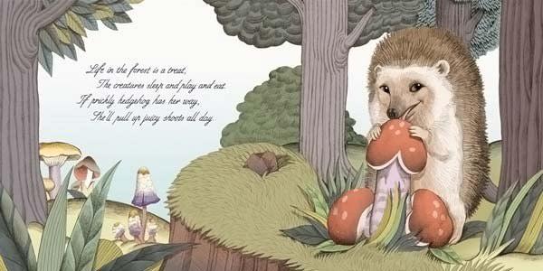 Рисунки в детской книжке