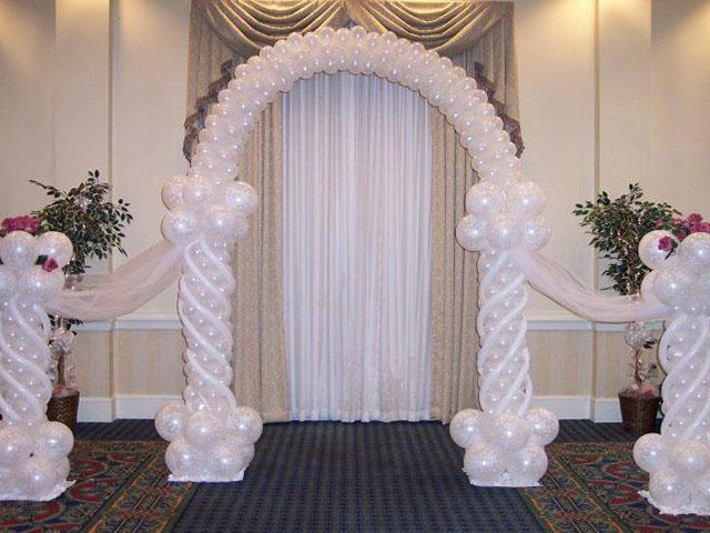 Свадебная арка шаров своими руками 187