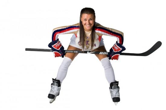хоккеистка