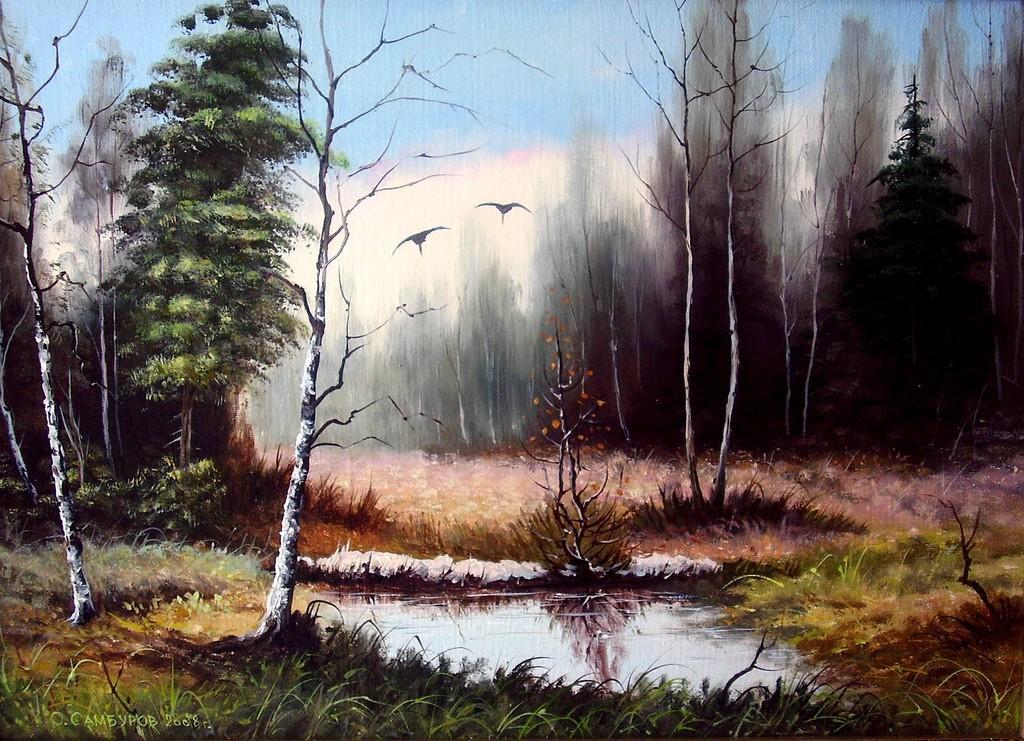 00-весна-мои картины