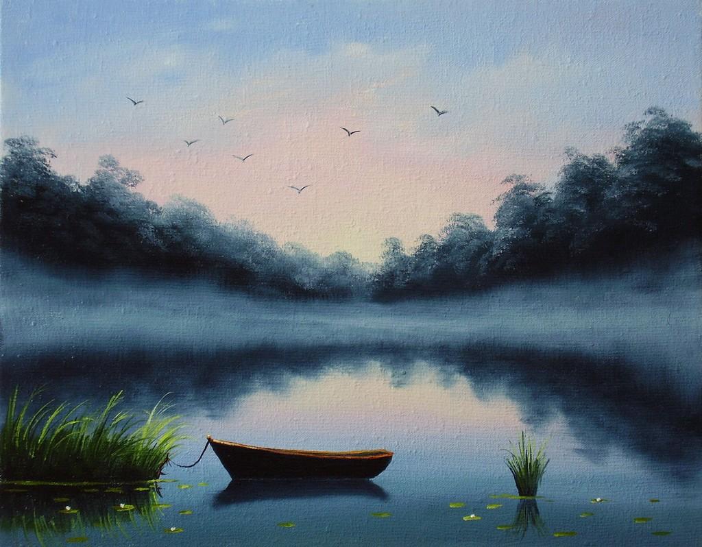 00-лодочка мо картины