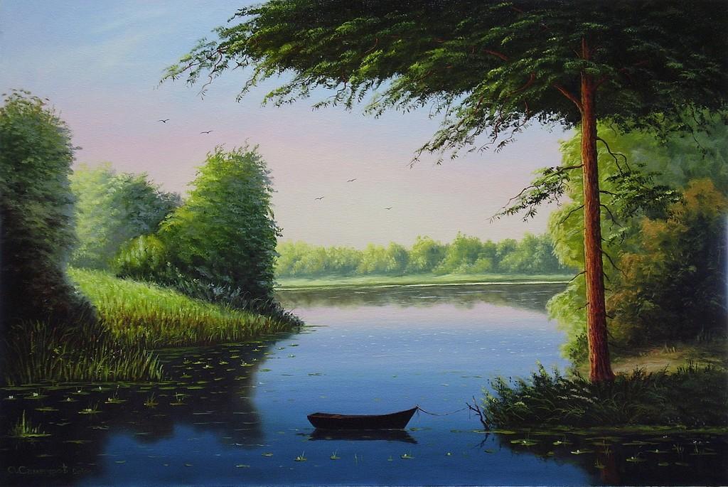 005-лодочка-мои картины