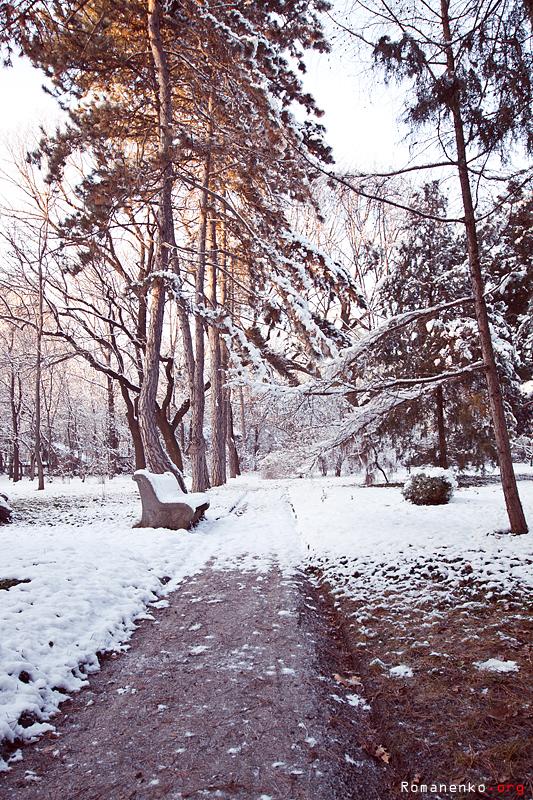 Одесская зима моими глазами…