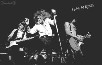 Guns N' Roses (автор ArtSlash)