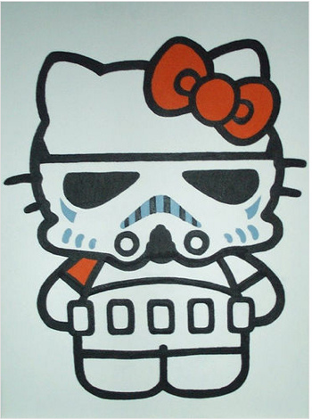 Hello Kitty Storm Trooper