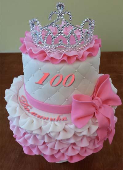 Торт в стиле принцессы своими руками 35