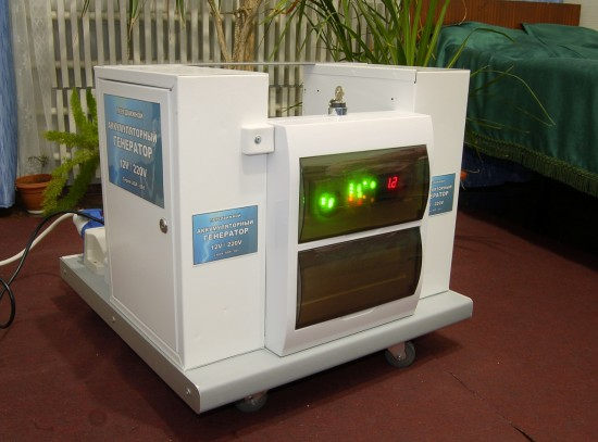 Передвижной Аккумуляторный генератор AGP-001