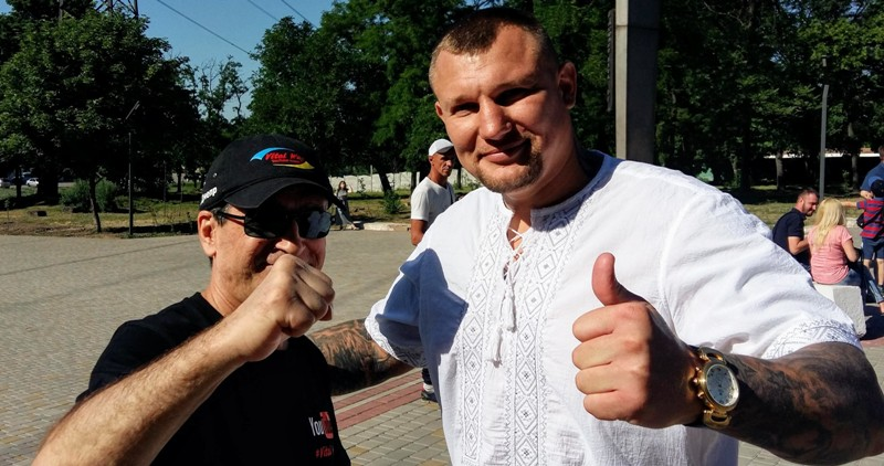 Виталий Пискун и Андрей Руденко