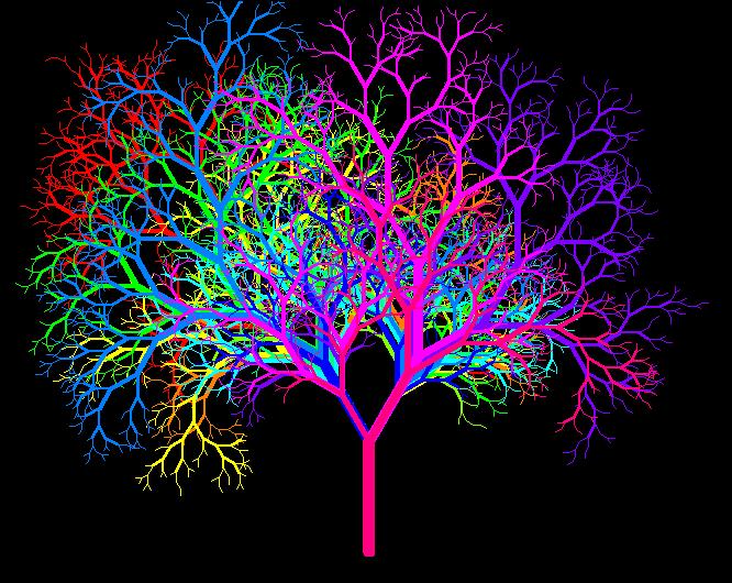 szines fa