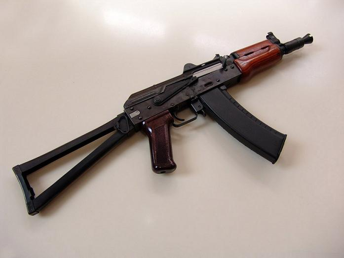 """Добавил.  Автомат АК-47 полностью называется  """"7,62-мм автомат Калашникова образца 1947 года """" ."""