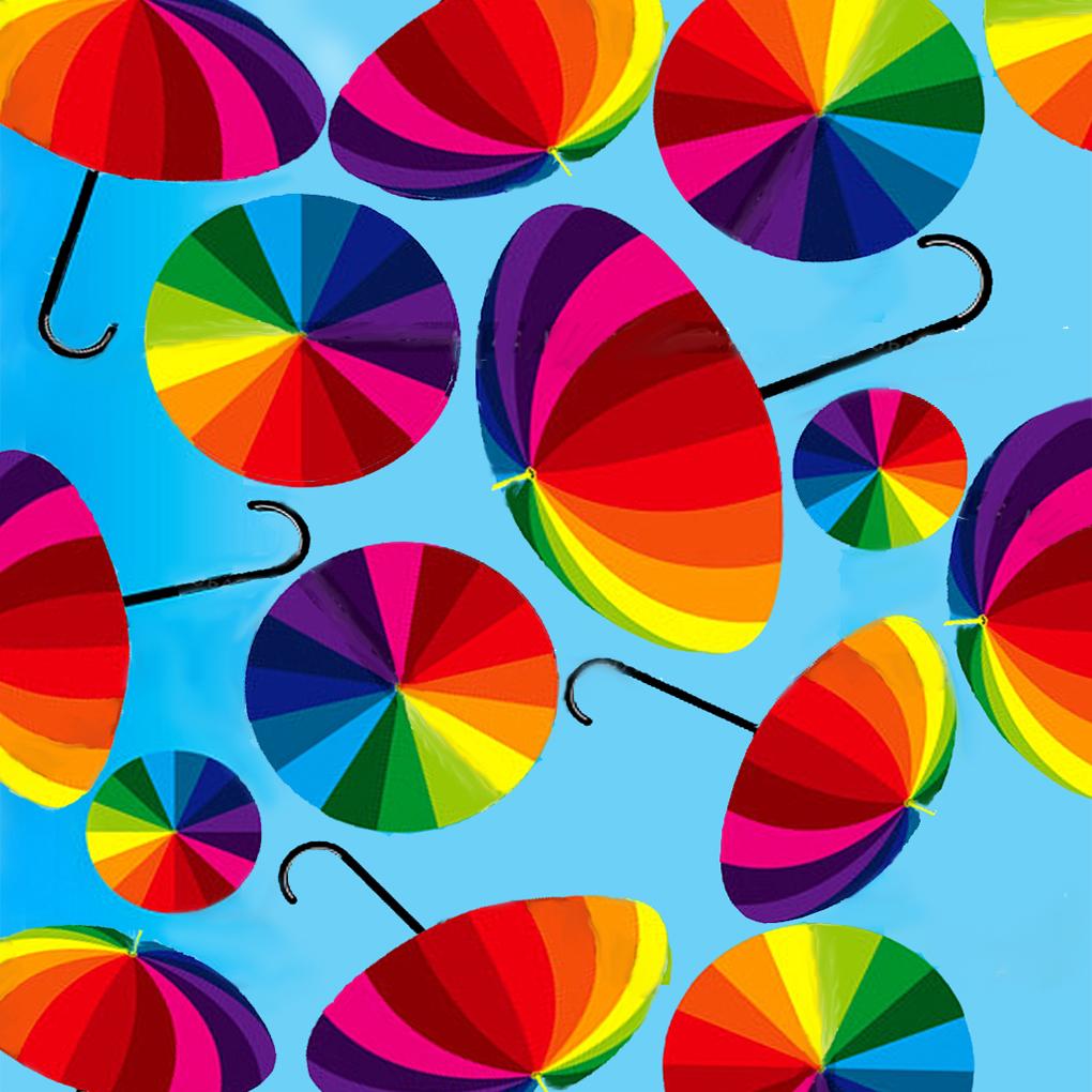Дождь и зонтики картинки