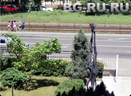 Памятник студенту в Будапеште