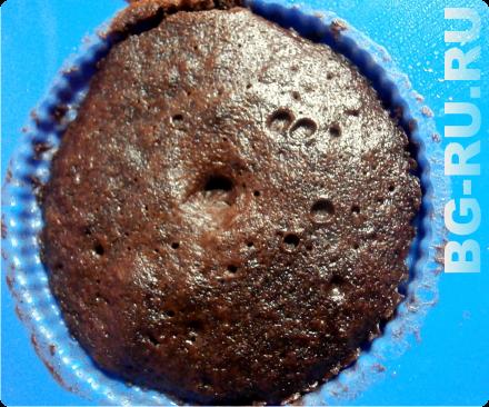 готовим кекс в свч