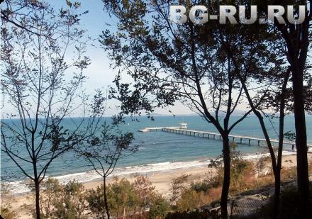 Ноябрьское море в Болгарии