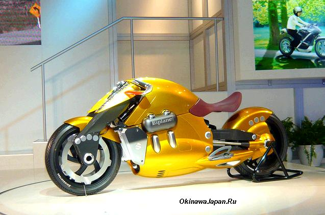 Новый японский мотоцикл - SUZUKI