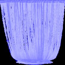 Занавески фиалетовые 3