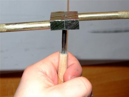 Как сделать плашку своими руками 11