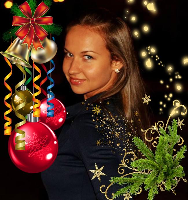 -новогодняя открытка