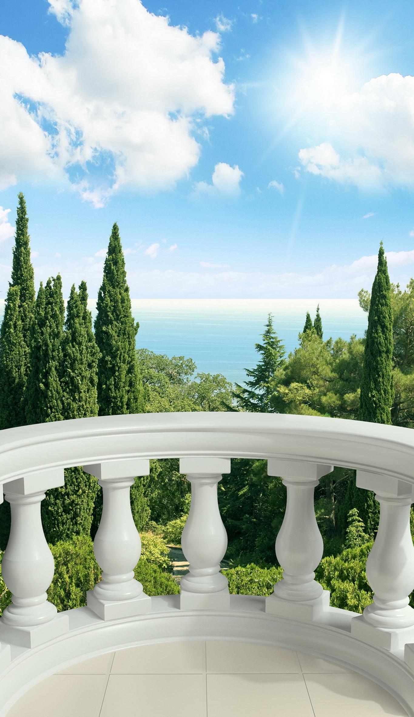 Фотообои вид с балкона - коллекция вид из окна и балкона.
