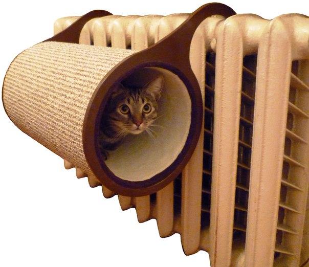 Гамаки для кошки на радиатор своими руками