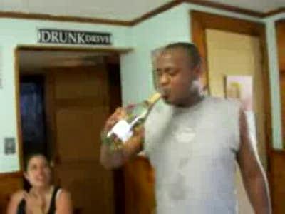 глоток шампанского