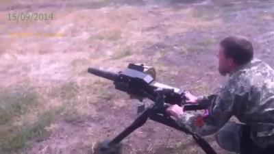 Моторола обстрелял своих из гранатомета