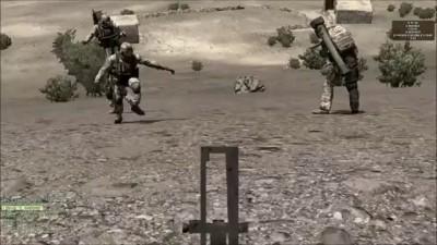 ArmA 2 glitch Dance