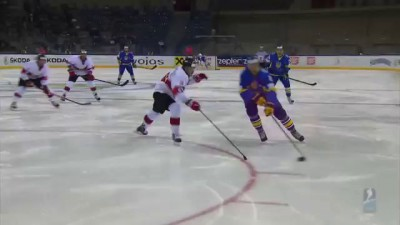 Ukraine vs. Hungary - 2015 IIHF Ice Hockey World Championship Division I Group A
