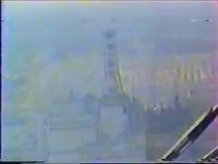 Чернобыль (Редкие кадры расколённого реактора)