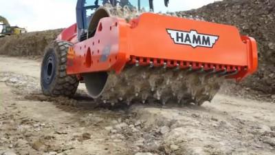 BOMAG vs HAMM: Stone Crusher Compilation