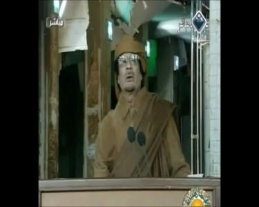 Секретная Съемка Муаммар Каддафи о своем НАРОДЕ