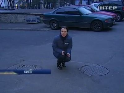 Прорыв теплотрасс в Киеве