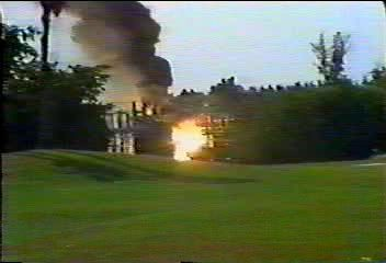 Взрыв трансформатора
