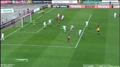Гол Карадениз 1-0 (Рубин - Партизан) 4.10.2012