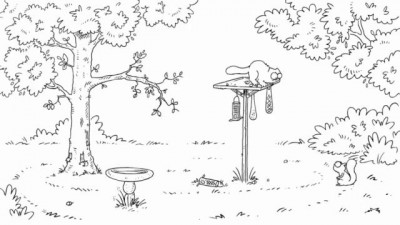 Simon's Cat in 'Nut Again'