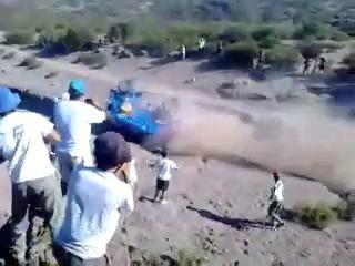 """""""Камаз-Мастера"""" перевернулся на """"Дакаре"""""""