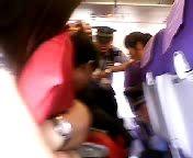 Полицейская акция в самолете (Шанхай)