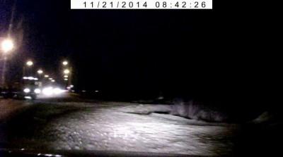 Авария в Оренбурге 21.11.2014