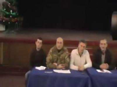 Встреча властей Котовска и участников АТО