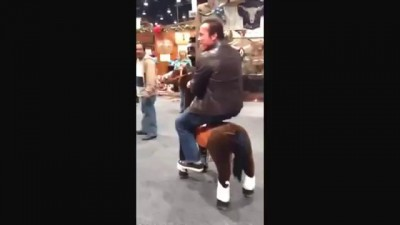 Horsing Around at Cowboy Christmas