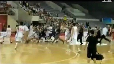 Жесткий баскетбол: китайцы против американцев