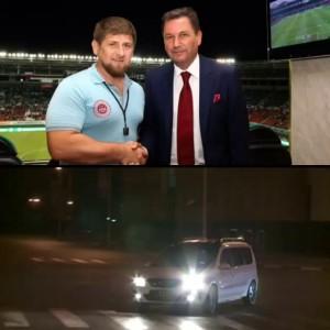 Кадыров тестирует Largus VIP