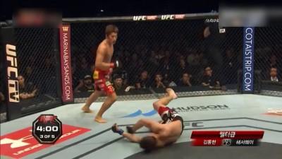 Реакция корейских комментаторов UFC на нокаут Дон Хун Кима