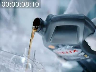 Shell Helix Ultra прозрачная машина - как это делалось.