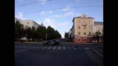 Не пропустил мотоциклиста при повороте...
