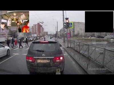 Два горячих горца встретились на светофоре в Петербурге